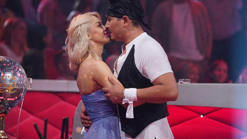 "Oana Nechiti und Erich Klann bei ""Let's Dance"" 2018"