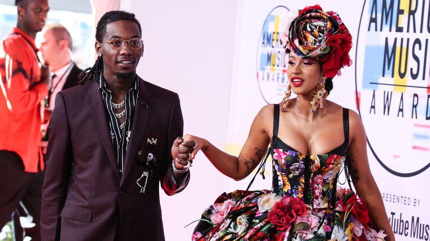 Nach Trennung von Cardi: Rapper Offset vermisst Noch-Ehefrau