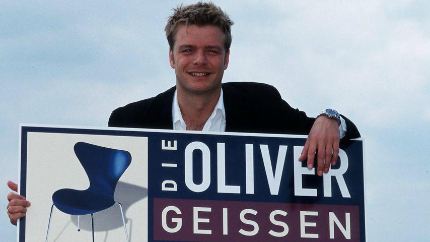 Oliver Geissen bei der Vorstellung seiner Talkshow 1999