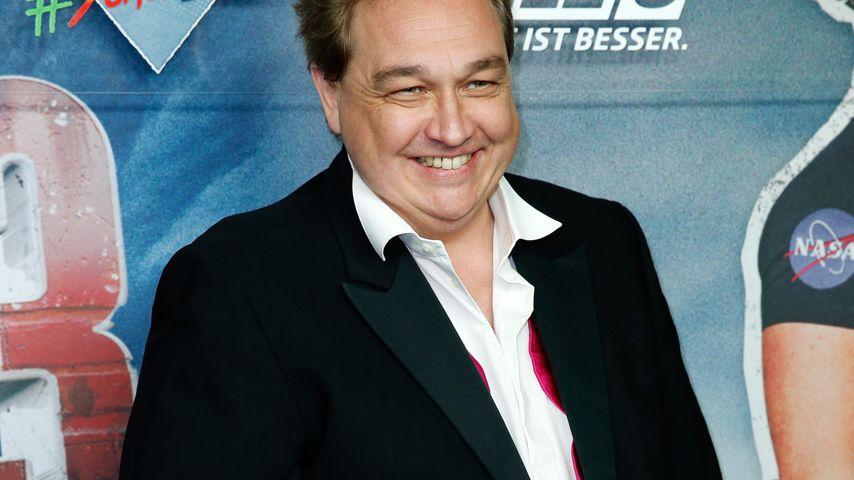 """Oliver Kalkofe bei der """"Sharknado 3""""-Premiere in Berlin im September 2015"""