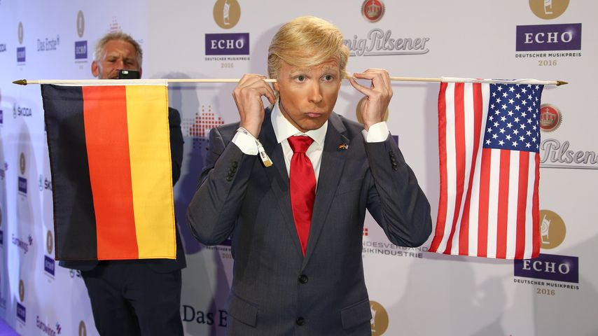 Oliver Pocher als Donald Trump