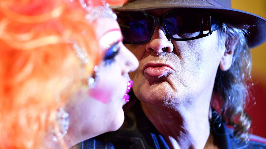Olivia Jones und Udo Lindenberg in Hamburg