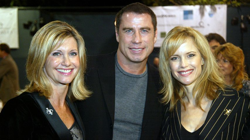 Olivia Newton-John, John Travolta und Kelly Preston, 2002