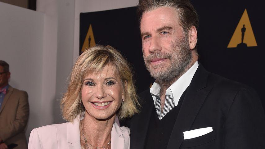 Olivia Newton-John und John Travolta im August 2018