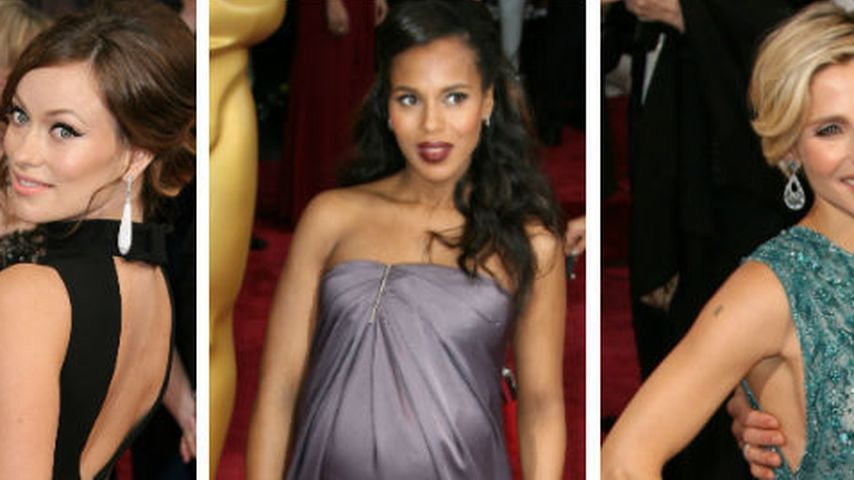 Pralle Oscars: Promi-Damen zeigen ihre Baby-Kugeln   Promiflash.de