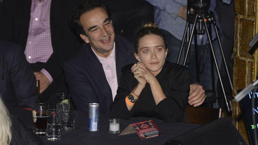 Olivier Sarkozy und Mary-Kate Olsen, 2013