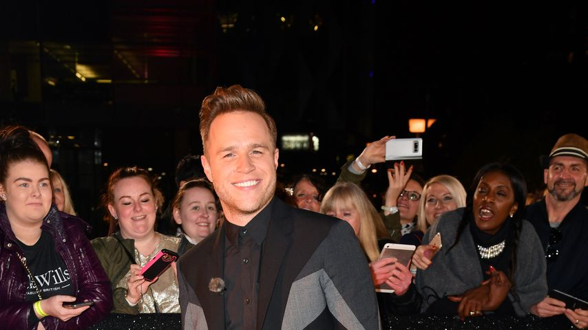 "Olly Murs beim Photocall von ""The Voice"" 2018"