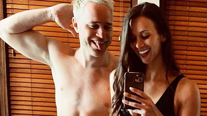 Olly Murs und seine Freundin Amelia Tank