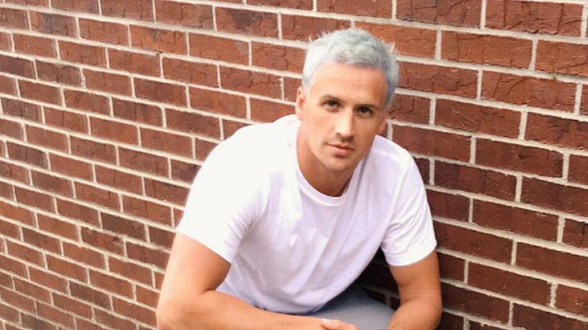Olympia-Schwimmer Ryan Lochte mit blonden Haaren