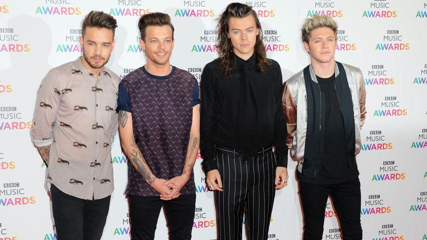 One Direction bei einer Award Show 2015