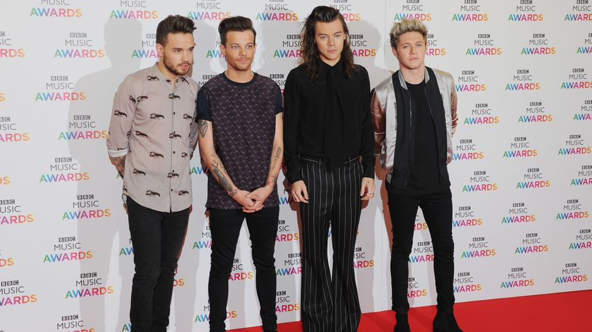 One Direction bei den BBC Music Awards 2015