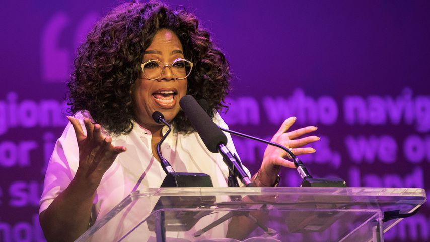 Oprah Winfrey im November 2018 in Johannesburg
