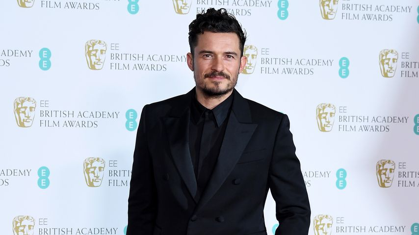 Orlando Bloom bei den British Academy Film Awards 2018