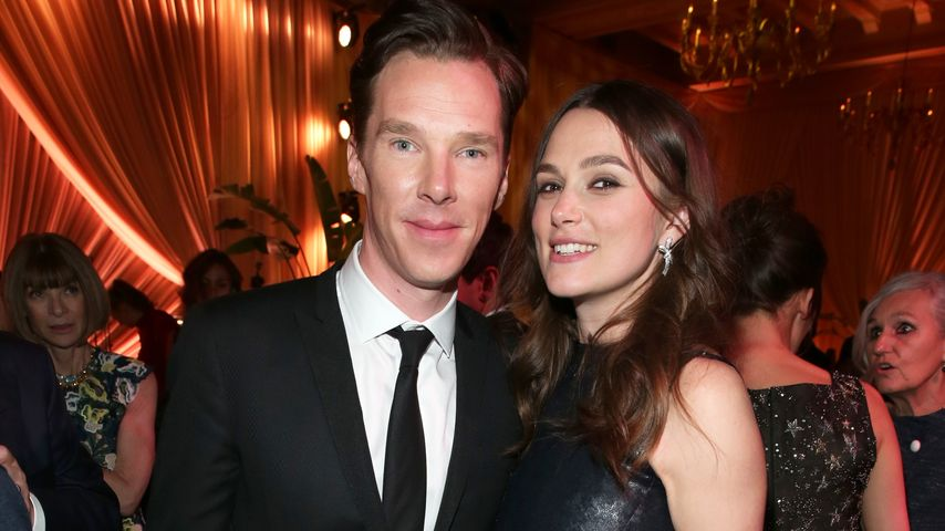 Keira Knightley und Benedict Cumberbatch