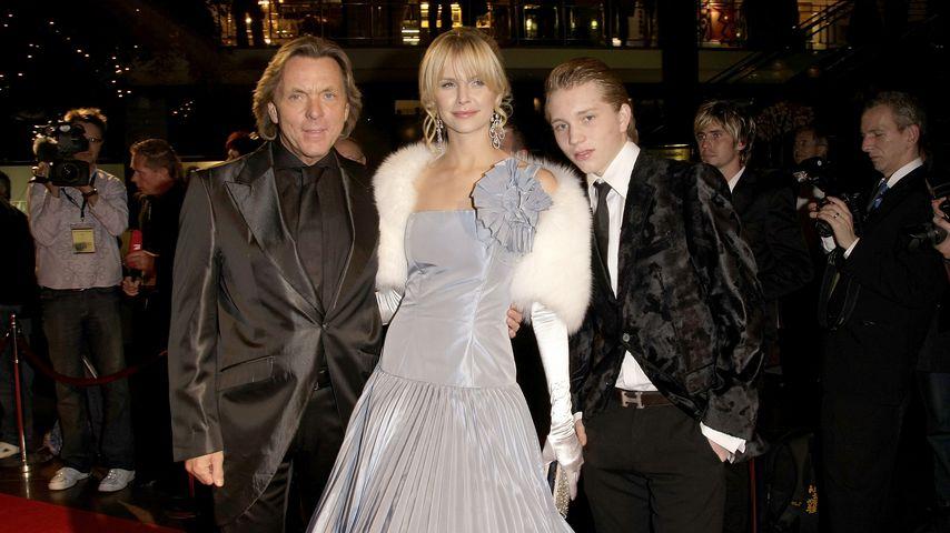 Otto Kern, Naomi Valeska und Olivier Kern bei der Unesco Benefit Gala for Children 2008