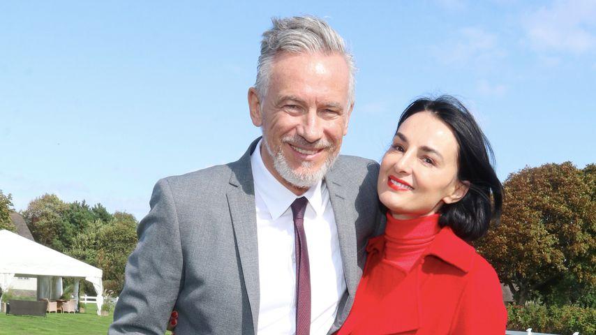 Otto Steiner und Mimi Fiedler im September 2018 auf Sylt