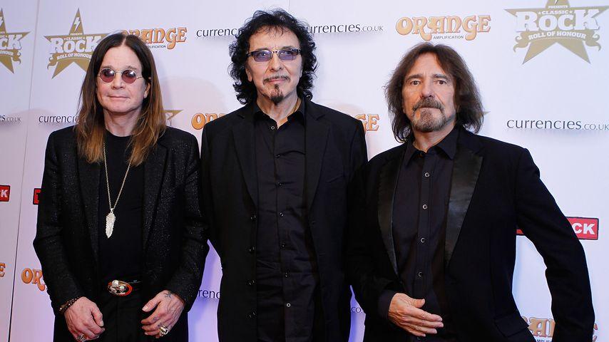 Ozzy Osbourne, Tony lommi und Geezer Butler, Black-Sabbath-Mitglieder