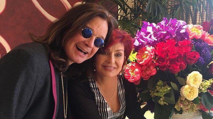 Trotz Affäre: Ozzy & Sharon Osbourne haben Jawort erneuert!