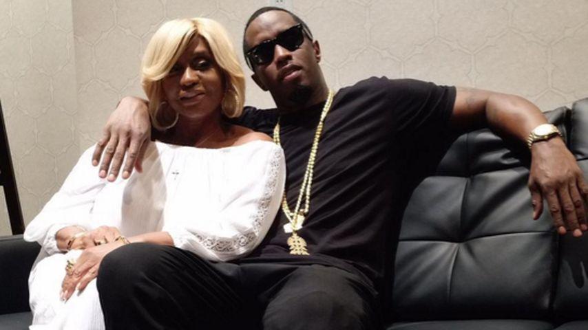 Sanfter Bad Boy: P. Diddy knuddelt seine Mutter zum B-Day