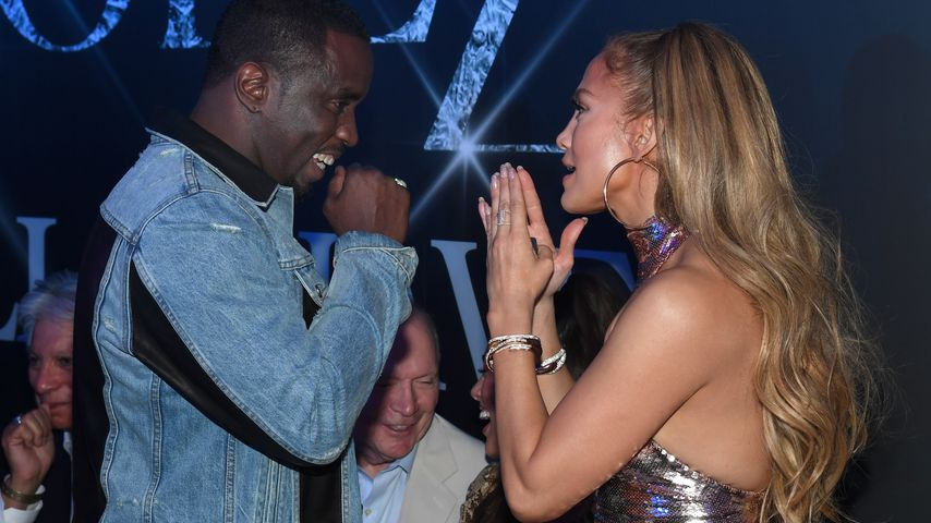 P. Diddy und Jennifer Lopez in Las Vegas