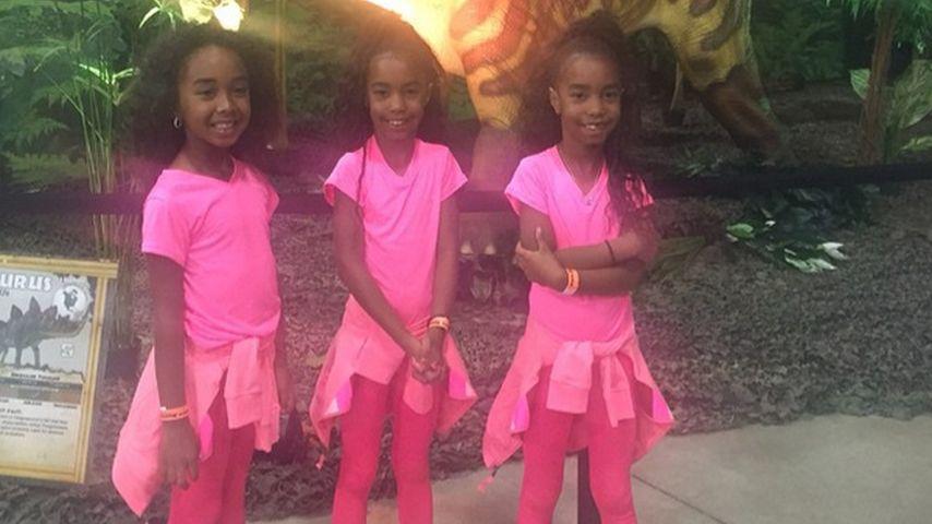 Süße Schwestern! P. Diddy zeigt seine pinken Girls
