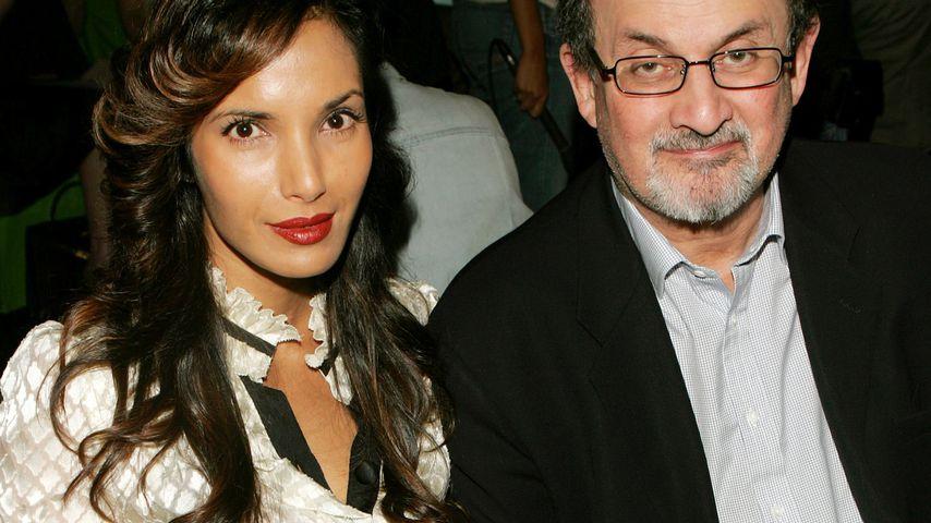 Padma Lakshmi und Salman Rushdie