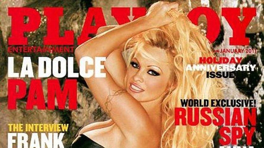 Pamela Andersons erotisches Playboy-Cover