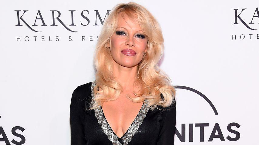 Heißer Catwalk! Pamela Anderson als sexy Model