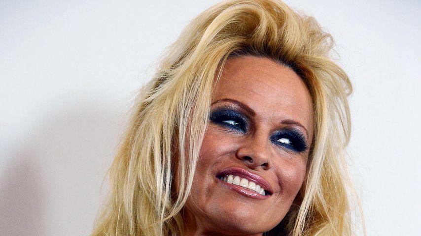 Pamela Anderson im Juli 2012