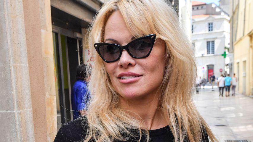 Pamela Anderson in Frankreich