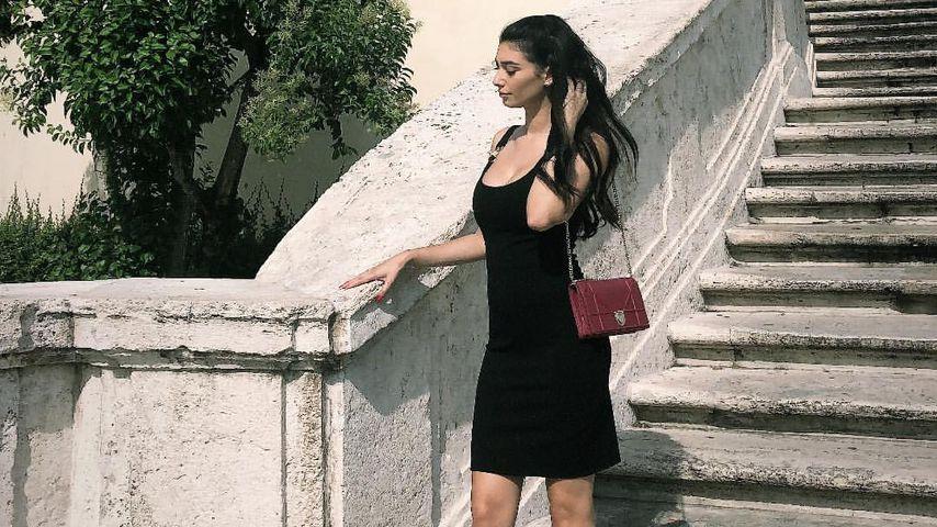 In Rom: Paola Maria zeigt stolz ihren kleinen Baby-Bauch!