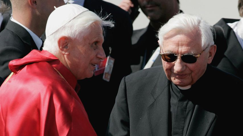 Papst Benedikt XVI. und sein Bruder Georg Ratzinger