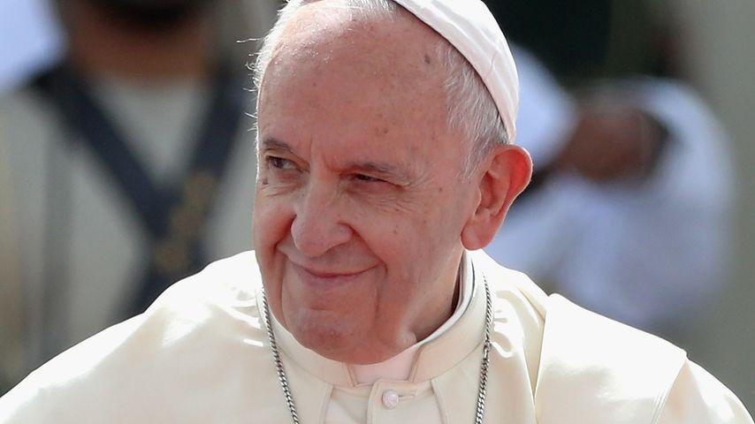 Papst Franziskus im Februar 2019 in Abu Dhabi
