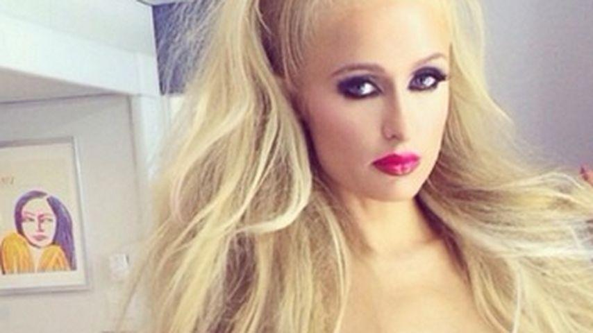 Wow! Püppchen Paris Hilton hat auf einmal Kurven