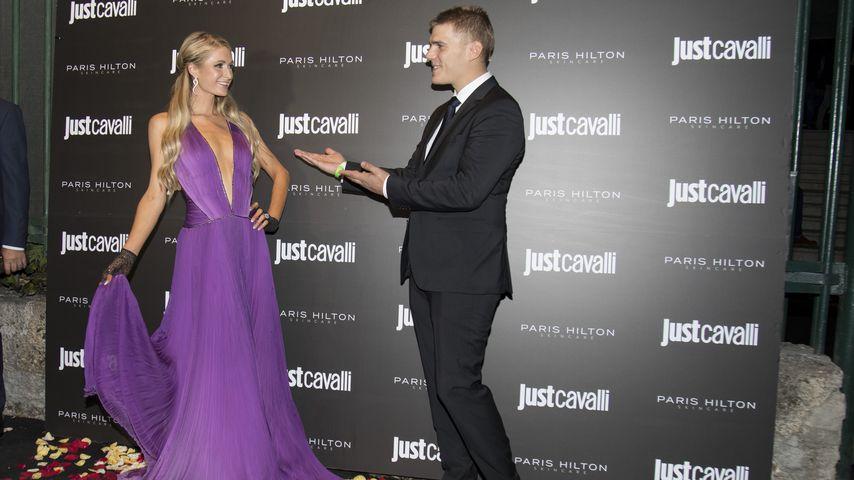 Paris Hilton und Chris Zylka im Oktober 2018
