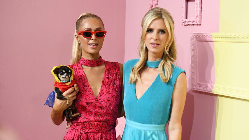 Paris und Nicky Hilton auf der New York Fashion Week 2019