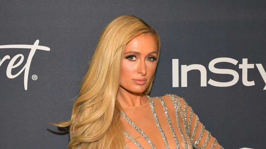 Paris Hilton bei den Golden Globes 2020