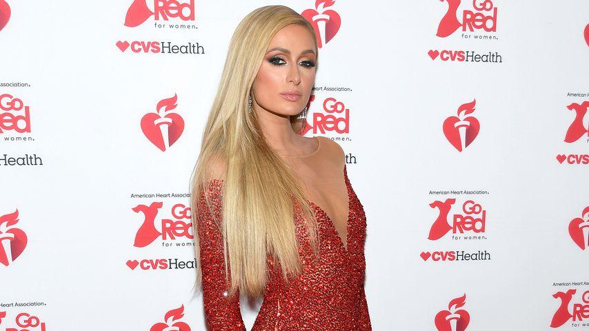 Paris Hilton im Februar 2020 in New York