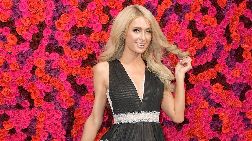 Paris Hilton im Februar 2019 in New York