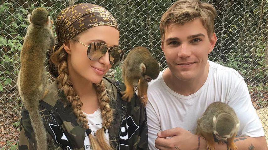 Paris Hilton und Chris Zylka