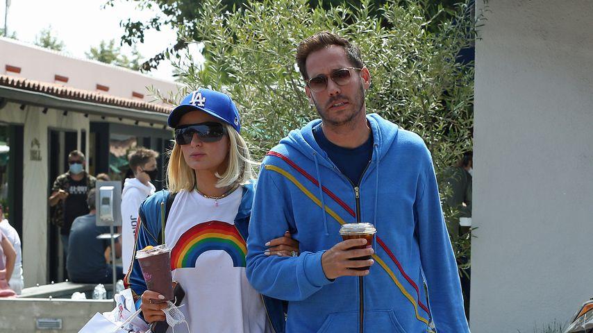 Paris Hilton und Carter Reum in Malibu, Kalifornien