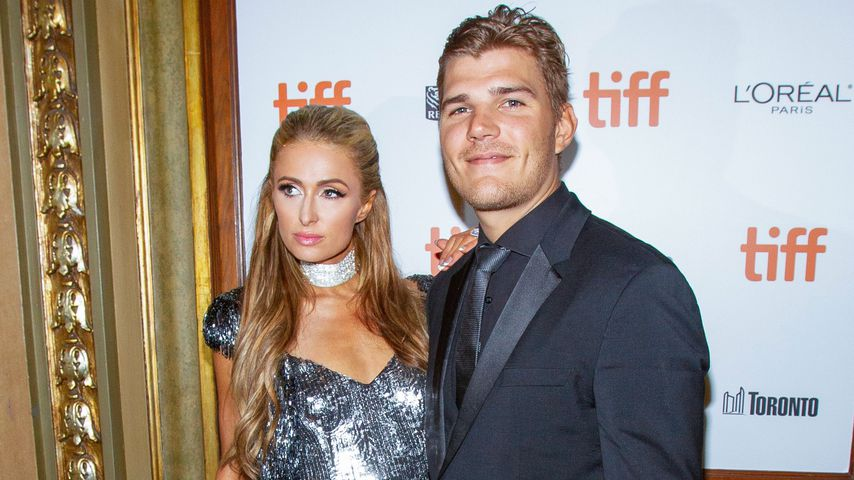 Paris Hilton und Chris Zylka, September 2018