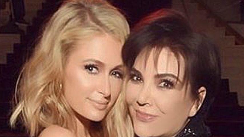 Nach Kim: Auch Kris Jenner mit Paris Hilton auf Kuschelkurs!