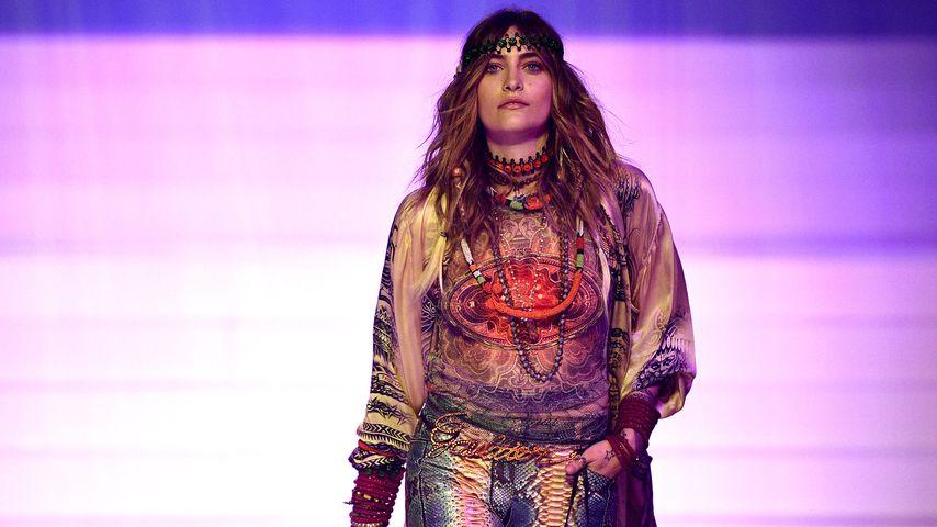 Paris Jackson bei der Fashion Show von Jean Paul Gaultier, Januar 2020