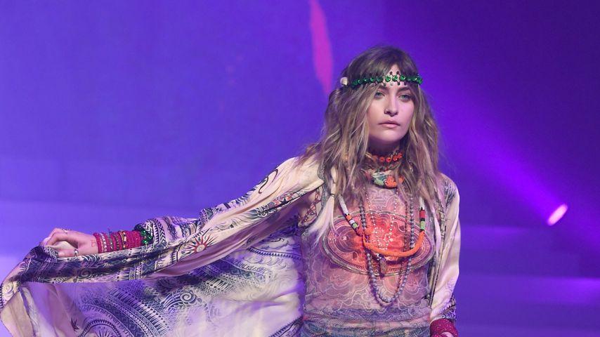 Paris Jackson bei der Fashion Show von Jean Paul Gaultier