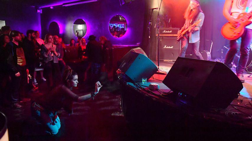 Paris Jackson beim Konzert von Trash Dogs, November 2018