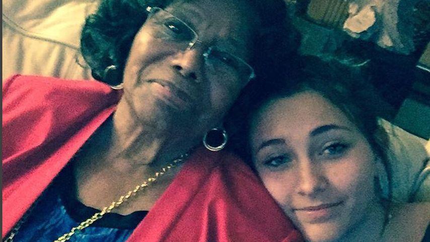 Paris Jackson mit Großmutter Katherine