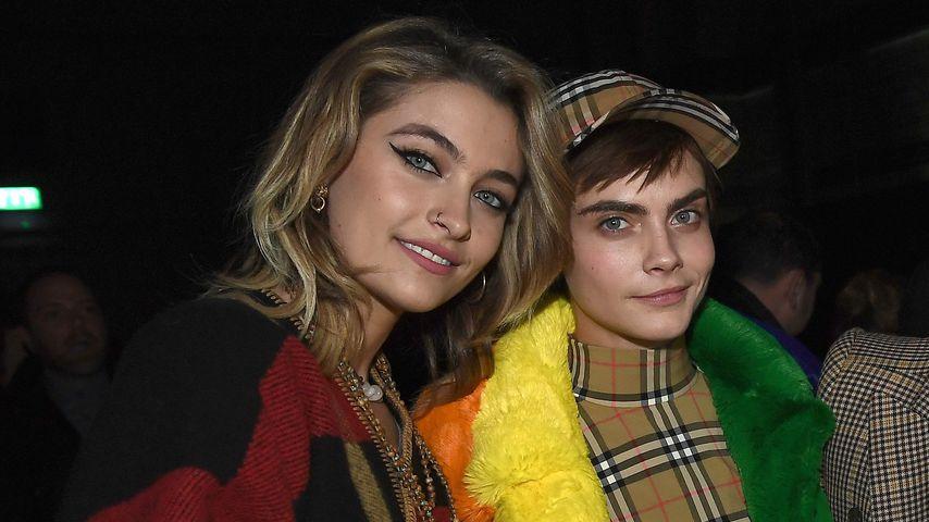 Paris Jackson und Cara Delevingne, 2018