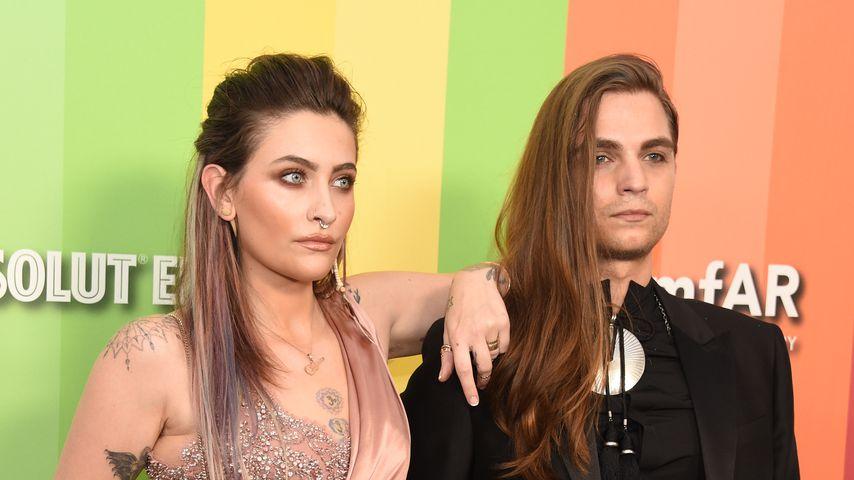 Paris Jackson und Gabriel Glenn bei der amfAR Gala in Los Angeles, 2019
