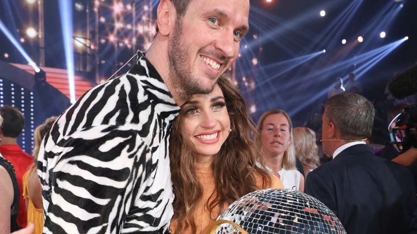 """Pascal Hens und Ekaterina Leonova beim """"Let's Dance""""-Finale"""